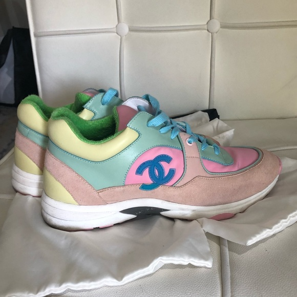 CHANEL Shoes   Chanel Sneakers   Poshmark